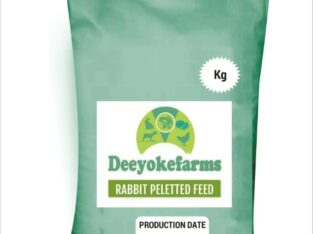 DEEYOKEFARMS RABBIT PELLETED FEED