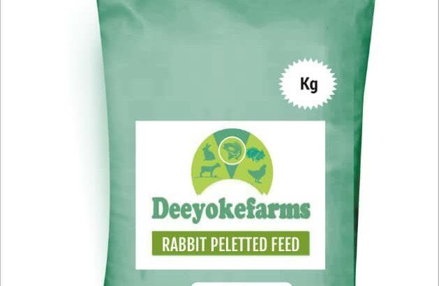 DEEYOKEFARMS RABBIT PELLETED FEED