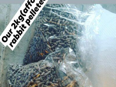 DEEYOKEFARMS 2KG RABBIT PELLETED FEEDS